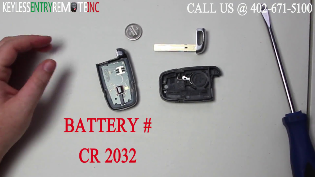 How To Replace Kia Sorento Key Fob Battery 2013 Youtube