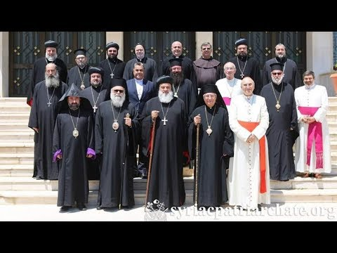 سفير الفاتيكان في دمشق يشارك باجتماع يمجد -انتصار الأسد-! - هنا سوريا