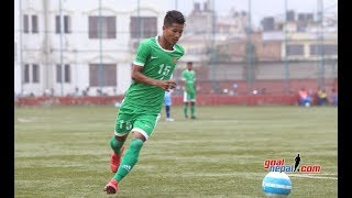 What a goal by dinesh henjan | lalit memorial u18 cham'ship