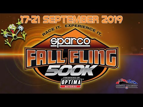 Sparco Fall Fling $500K - FST Wednesday