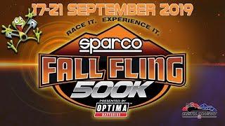 Sparco Fall Fling $500K - FST Wednesday