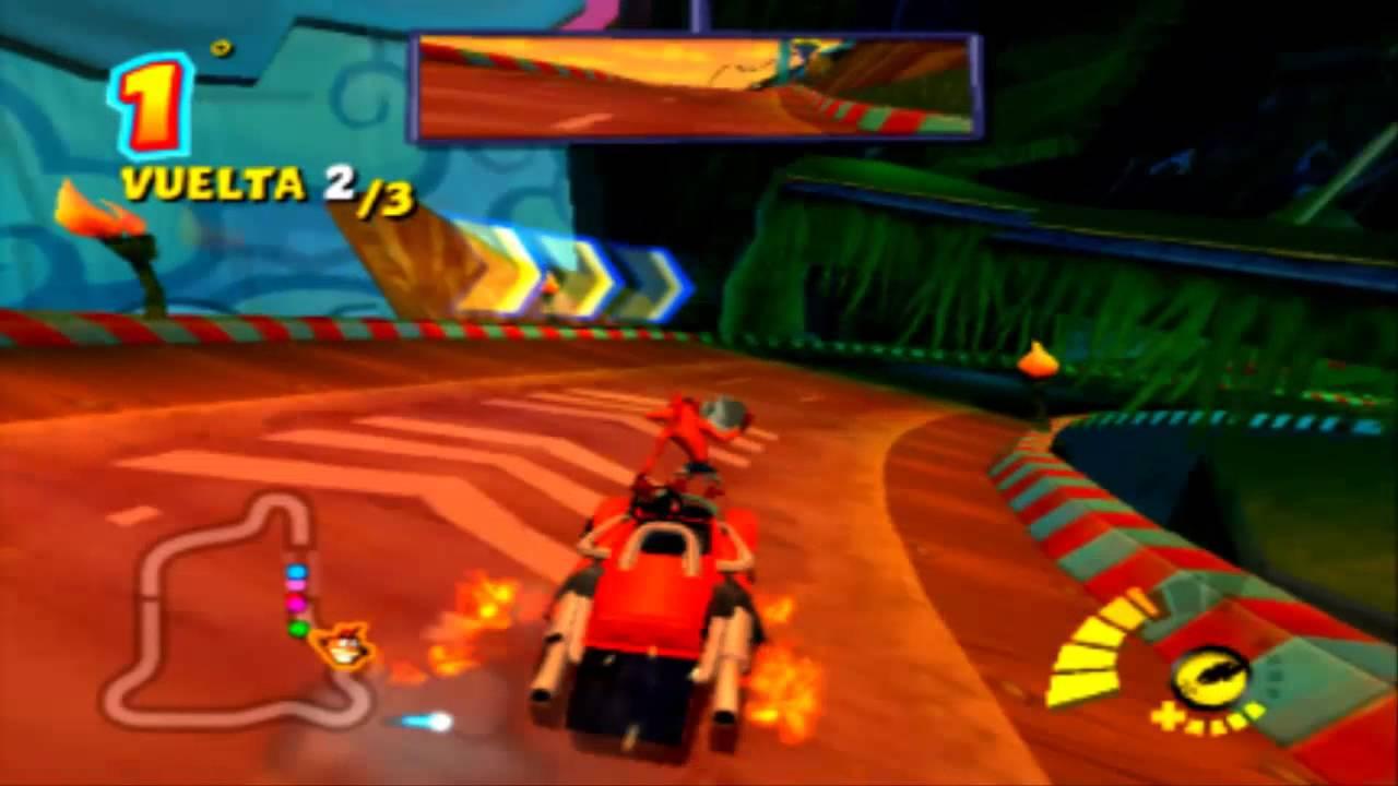 Demostracion Crash Bandicoot Tag Team Racing PC - YouTube
