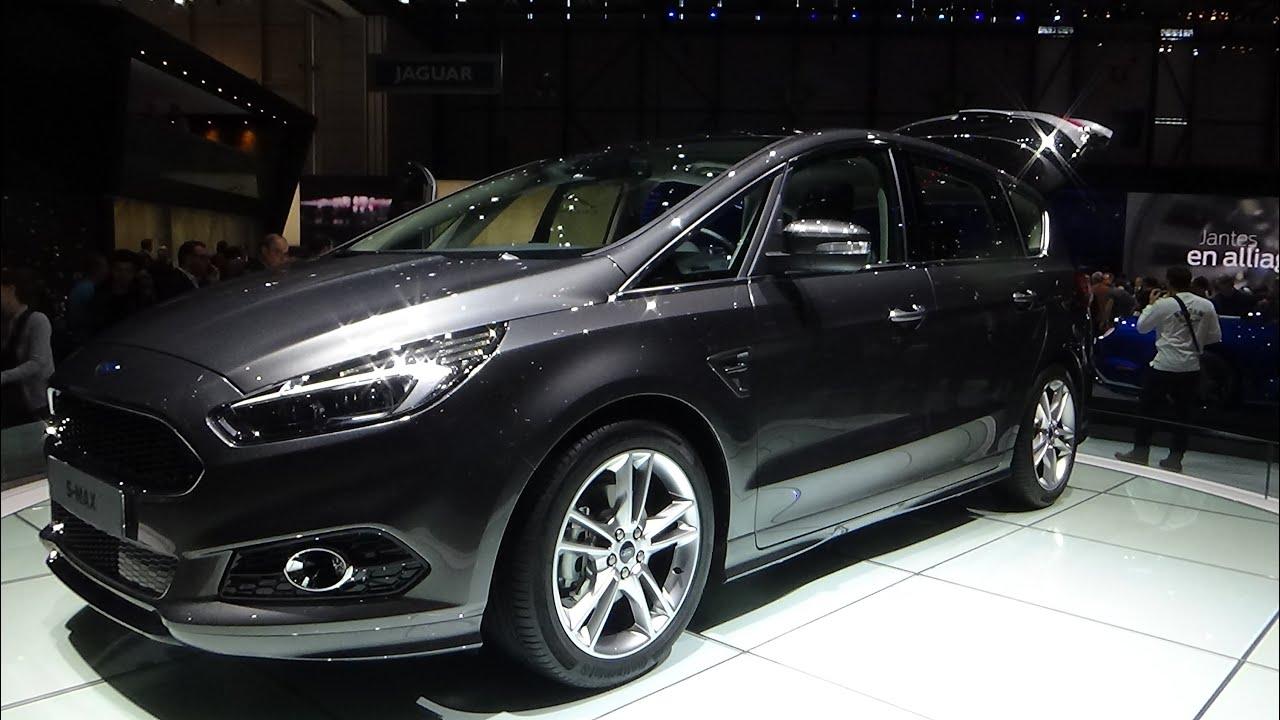 2015 - Ford S-Max S - Exterior and Interior - Geneva Motor Show 2015 ...