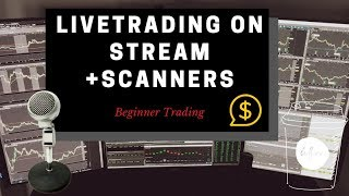 LIVE Day Trading! Plus Trade Ideas Scanner & Watchlist
