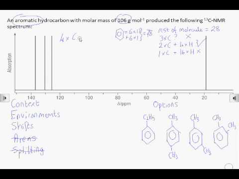 How2 Interpret A Carbon 13 Nmr Spectrum Youtube