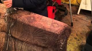 Химчистка дивана. Чистка очень грязного дивана. Karcher Puzzi 10/1.(, 2015-12-18T11:32:27.000Z)