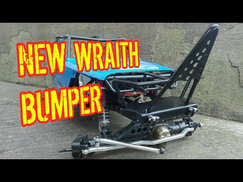 AXIAL WRAITH NEW BUMPER UPGRADE | RC ROCK CRAWLER PROJECT