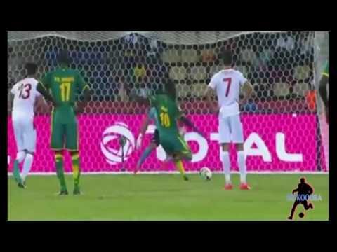 أهداف مباراة تونس 0 - 2 السنغال من كأس أمم إفريقيا 2017 بالغابون