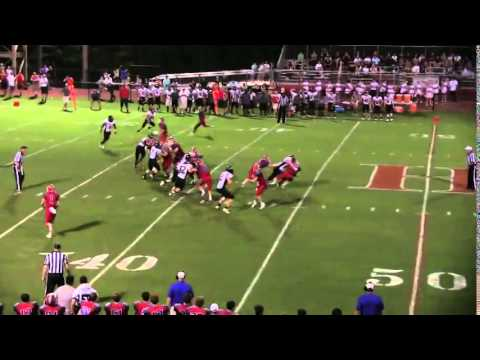 Sean Williams Cardinal Newman Football Big Hit