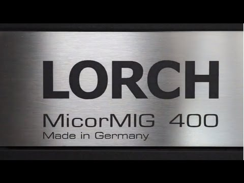 Сварочный полуавтомат LORCH MicorMIG Pulse 400
