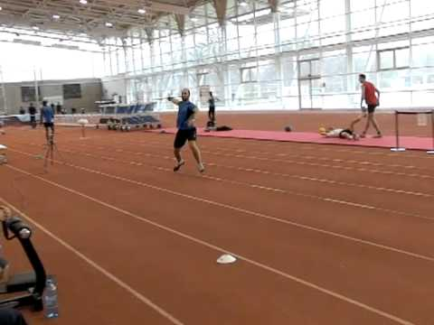 James Campbell Javelin Training March 2011