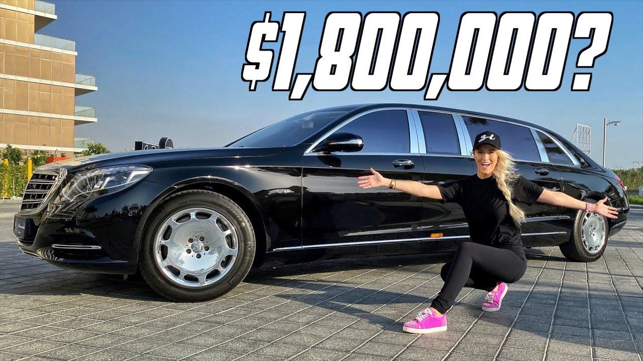 (VIDEO) - Най-луксозната кола - Mercedes Maybach Pullman