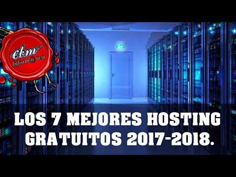 LOS 7 MEJORES HOSTING GRATUITOS 2017 – 2018