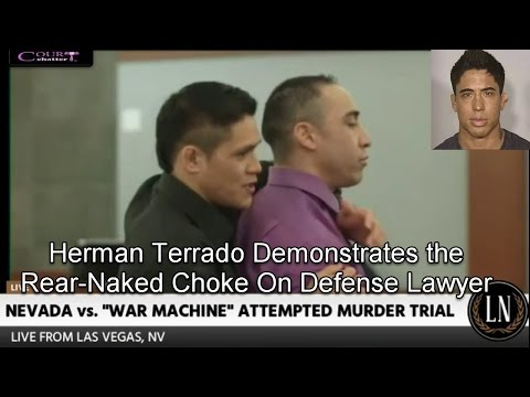 "War Machine Trial Day 7  (Herman ""The Hitman"" Terrado Testifies) 03/14/17"