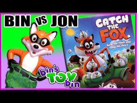 BIN VS JON - Catch the Fox Game! | Bin's Toy Bin