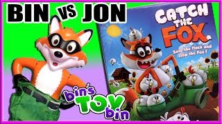 BIN VS JON - Catch the Fox Game! | Bin's Toy Bin