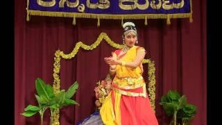 VIDYARANYA KANNADA KUTA: GANESHA HABBA 2014: TANVI RAO: BHARATHA BHOOSHIRA & FELICITATION