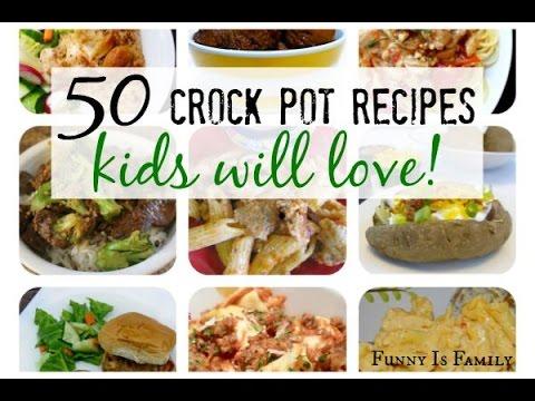 Crock Pot Recipes Kids Will Actually Eat!