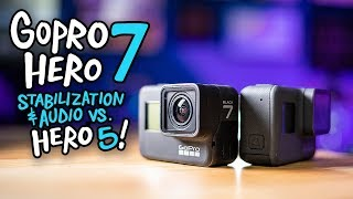 GoPro Hero 7 Black Real World Review (vs. Hero 5)!