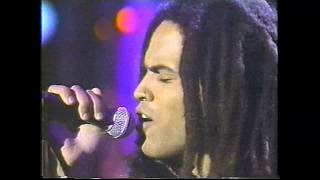 Lenny Kravitz - It Ain't Over Till Its Over - Arsenio 7/23/91 part one HIGH QUALITY STEREO