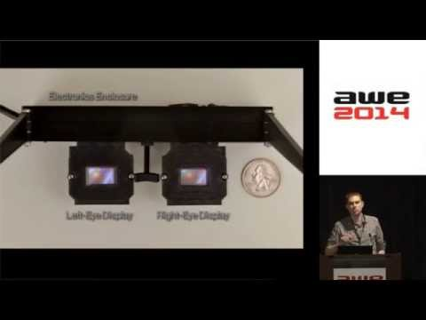 Douglas Lanman (NVidia) - Light Field Displays at AWE2014