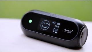 Huma-i (HI-150) Advanced Portable Air Quality Monitor (Black)