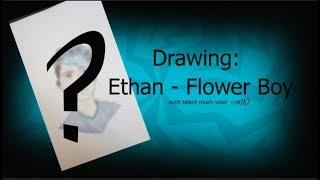 Ethan - Flower Boy (Speed Drawing)