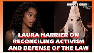 Laura Harrier On Reconciling Activism And Defense Of The Law