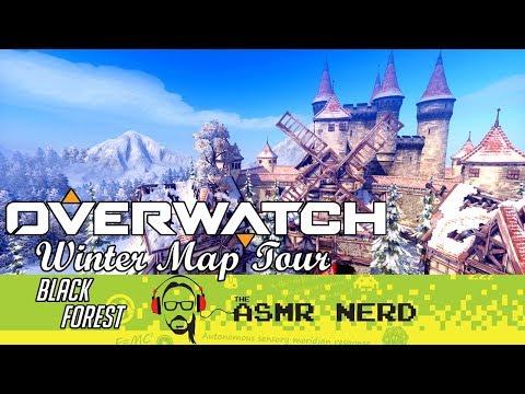 ASMR WHISPER   Overwatch Winter Map Tour   Black Forest