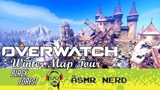 ASMR WHISPER | Overwatch Winter Map Tour | Black Forest