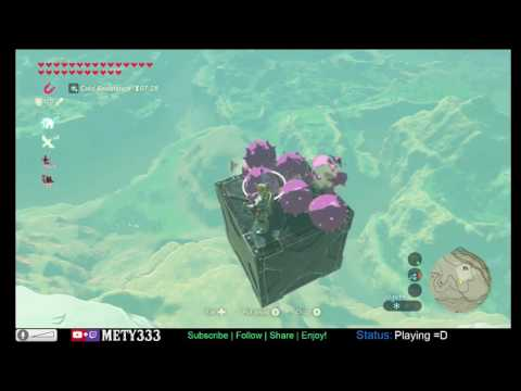 "FLY to the highest point in the game! ""Hot Air Balloon"" Version 2 in Zelda: Breath of the Wild"