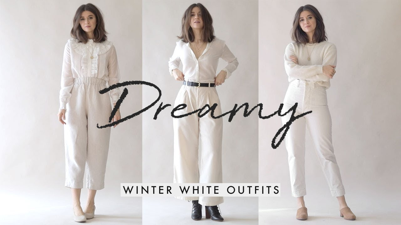 Dreamy Winter Whites | Outfit Ideas