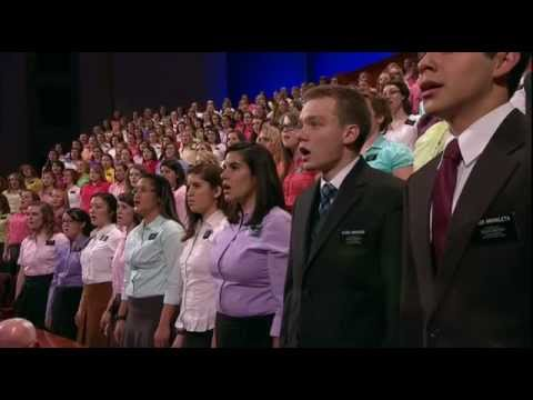 Elder David Archuleta and MTC Choir - Praise to the Man