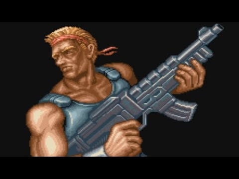 Contra 3 (SNES) Boss 05 The Mind (Hard, No Damage & Power Ups)
