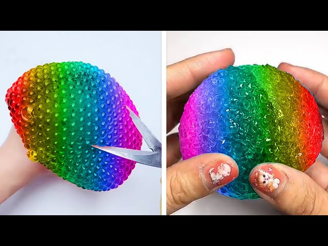 Oddly Satisfying Slime ASMR No Music Videos | Relaxing Slime 2020 | 16
