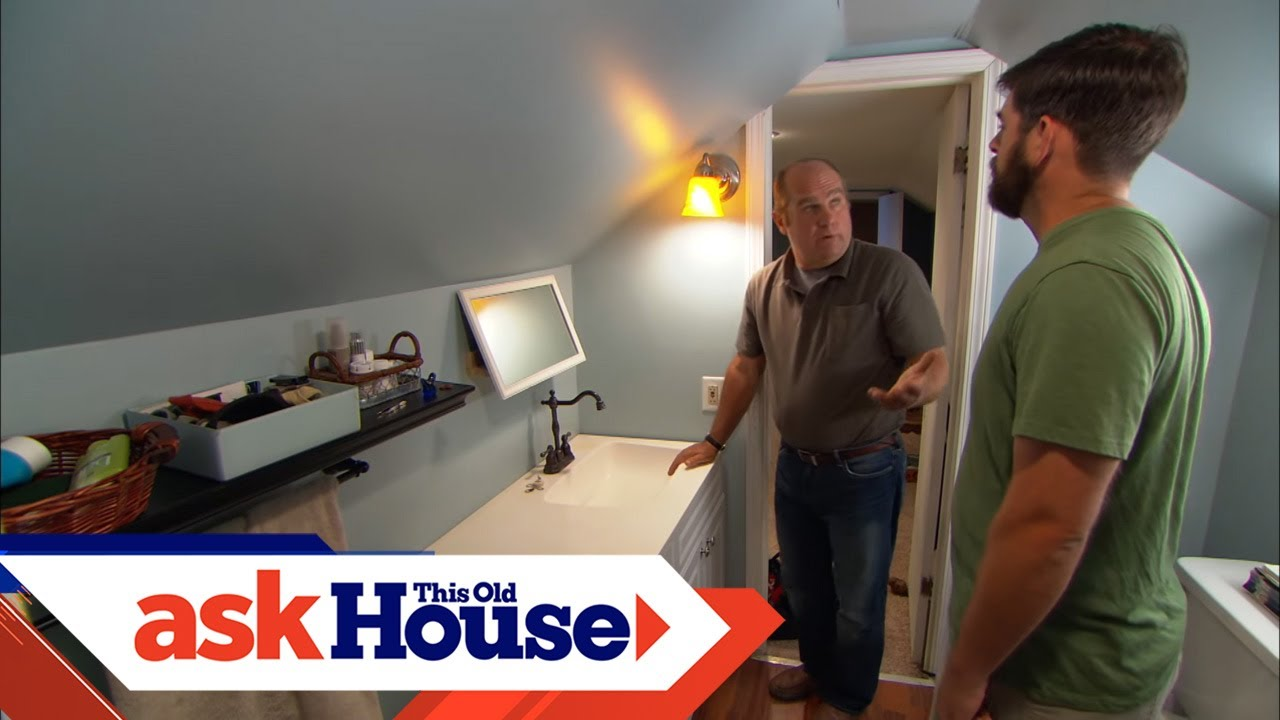 how to drain and vent a bathroom sink ask this old house [ 1280 x 720 Pixel ]