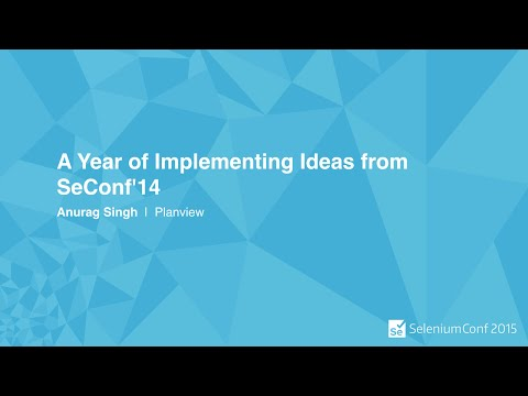 A Year of Implementing Ideas from SeConf'14