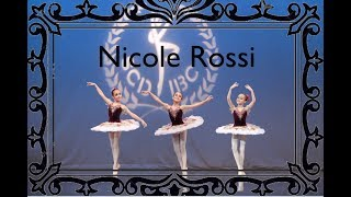 MY FIRST Paquita Forest BALLET DANCE on STAGE - Nicole Rossi