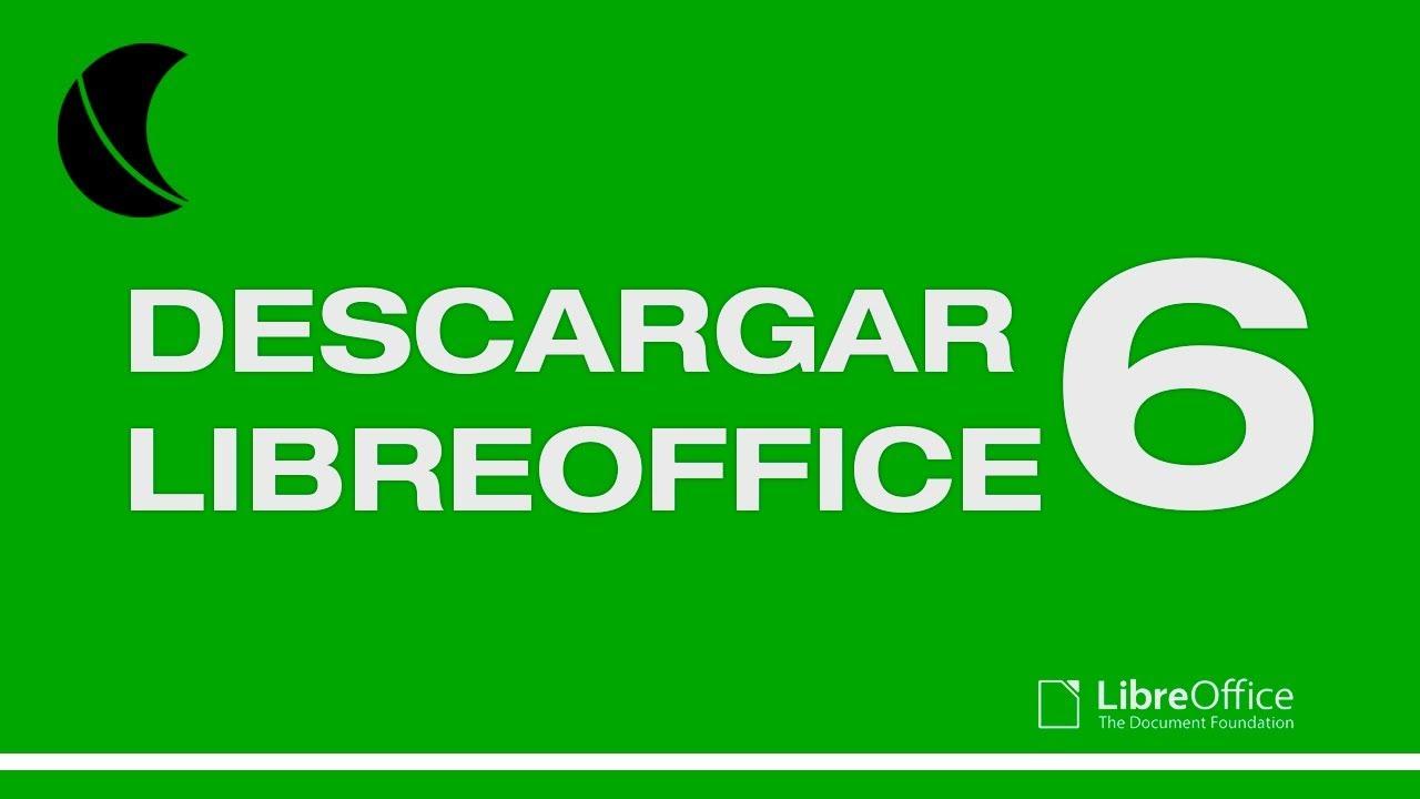 Descargar Libreoffice 6 Español Windows 10 tu…