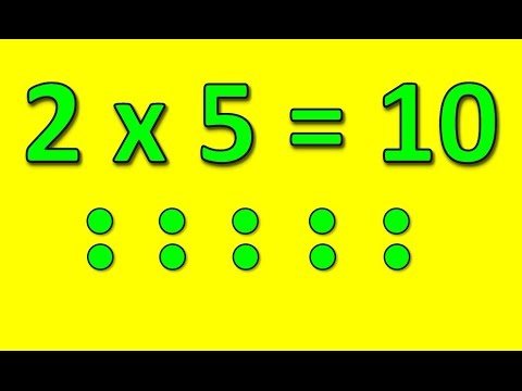 The 2 Times Table Song Multiply By 2 Silly School Songs Youtube