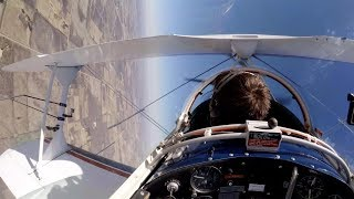 Almost Barfed - 1st Lesson Flying Inverted - Pitts S2B - Flight VLOG