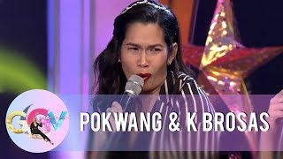 GGV: Pokwang shares her funny moment at the airport with her daughter Malia