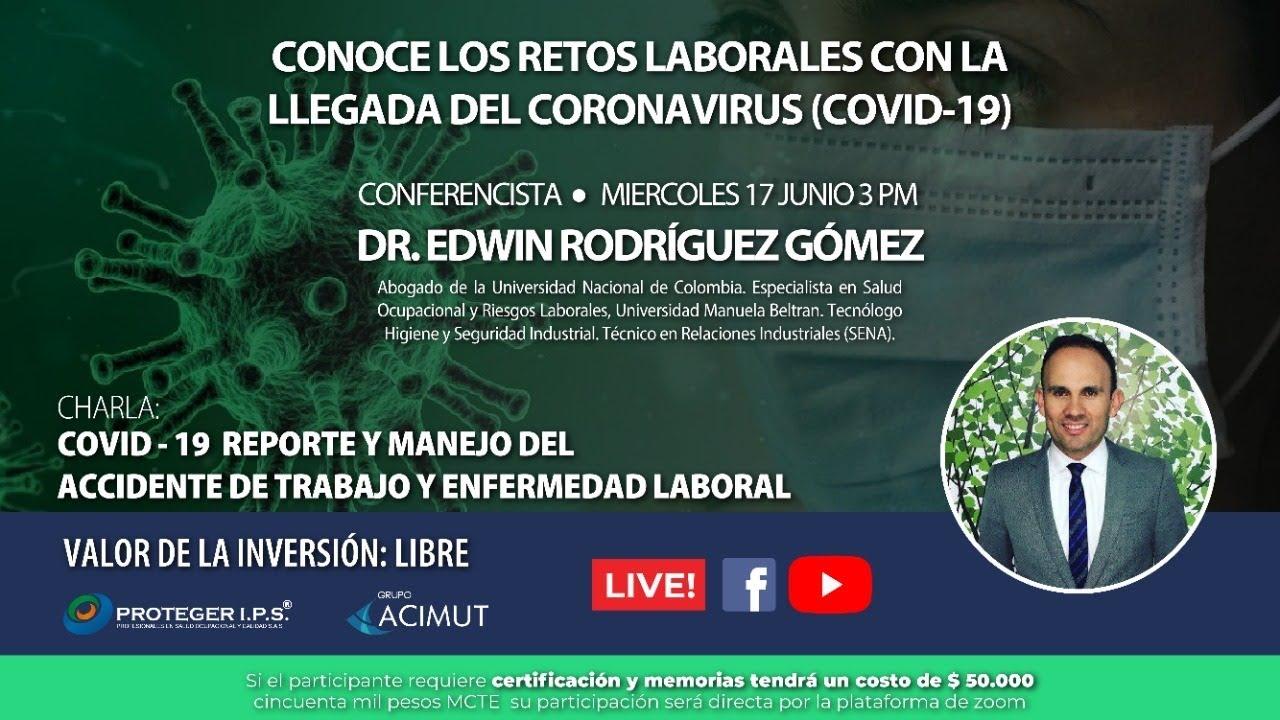 REPORTE DE ACCIDENTE DE TRABAJO - EN LOS TIEMPOS DE COVID 19  - CAPACITACIÓN