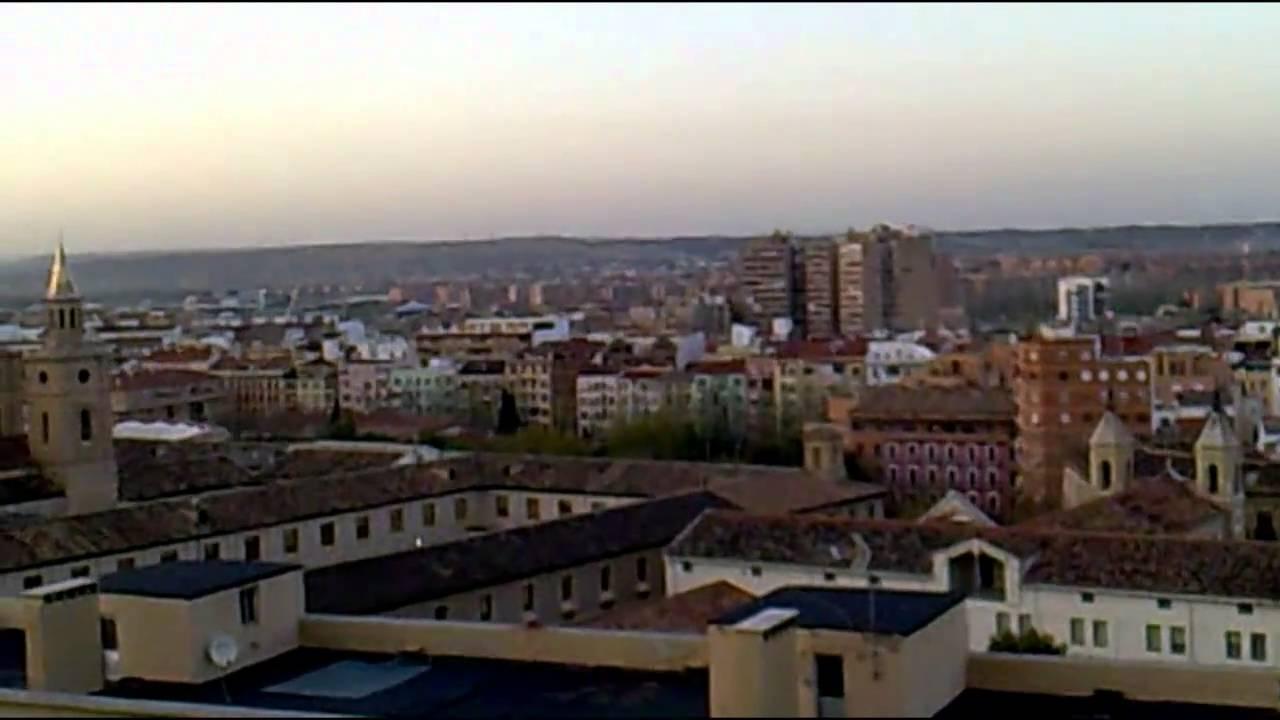 Vistas Desde La Terraza Del Museo Pablo Serrano Zaragoza Spain