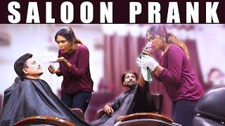 Saloon Prank In Saloon | VJ Roshni | Ka Ka Ka Po