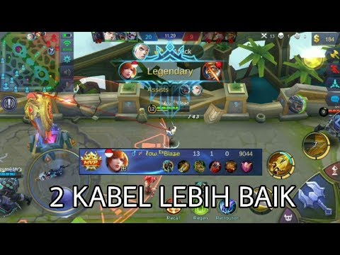 Fanny Miss Cable Gameplay - Mobile Legends Indonesia