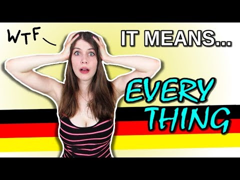 A Tiny German Word Meaning EVERYTHING And NOTHING