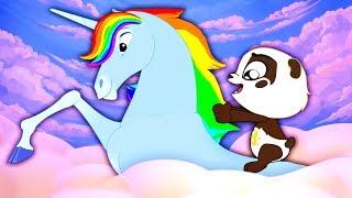 The Unicorn Song | Panda Bo Nursery Rhymes for Kids Subscribe us no...