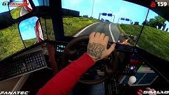 ETS 2/ Road to the Black Sea first drive/ gopro wheel cam