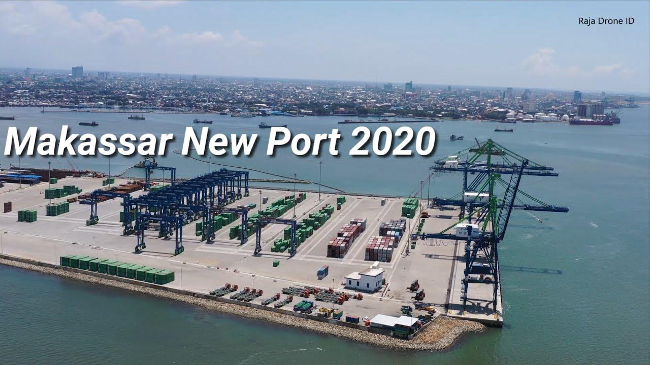 Makassar New Port 2020, Drone View Pelabuhan Baru yang Moderen di Kota  Makassar Sulawesi Selatan - YouTube